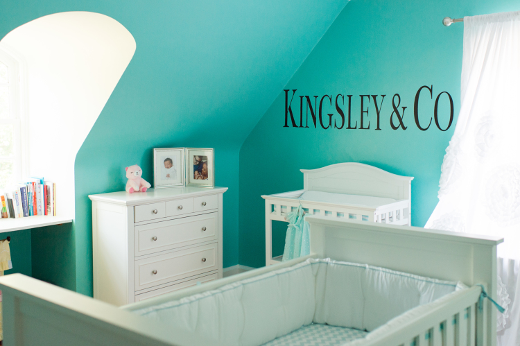 Sharing my daughter's nursery for some inspiration.