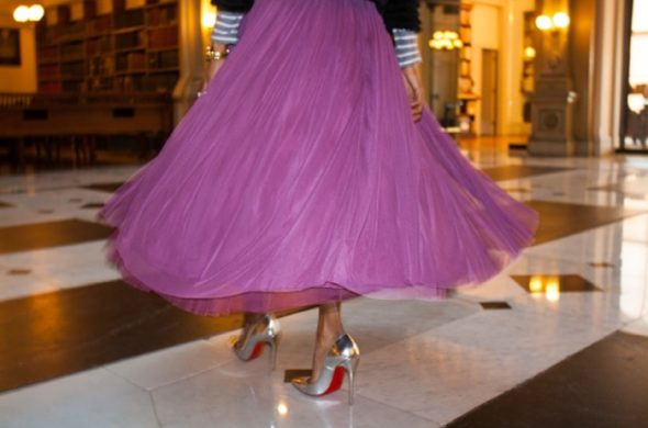 Adding tulle to your grown-up closet