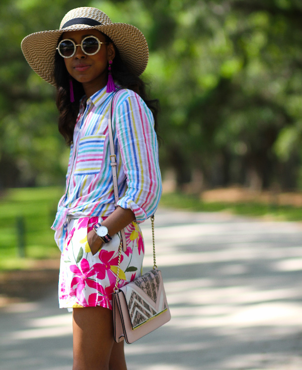 Florals and stripes