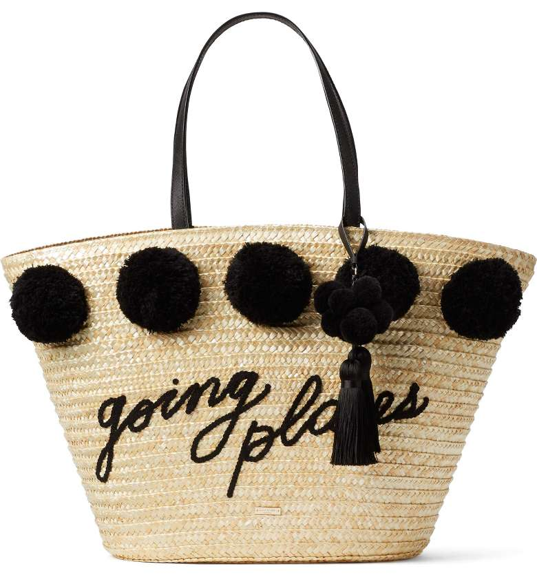 Kate Spade, Lewis Way Pompom Tote