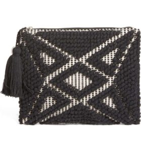 Kate Spade, Palisades Tasseled Woven Clutch