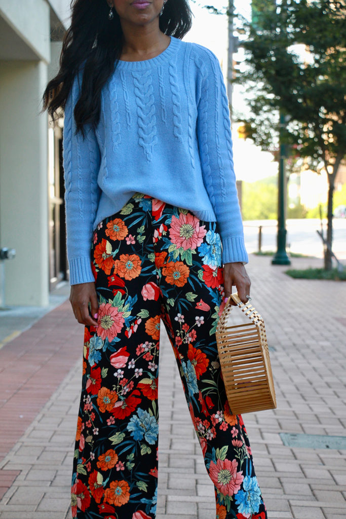Wear Now, Wear Later // Floral Trousers