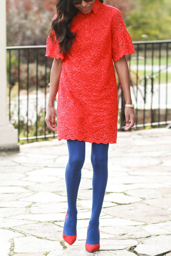 Holiday style files -- Holiday red and blue