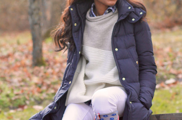 Holiday Style Files // Puffer Jacket